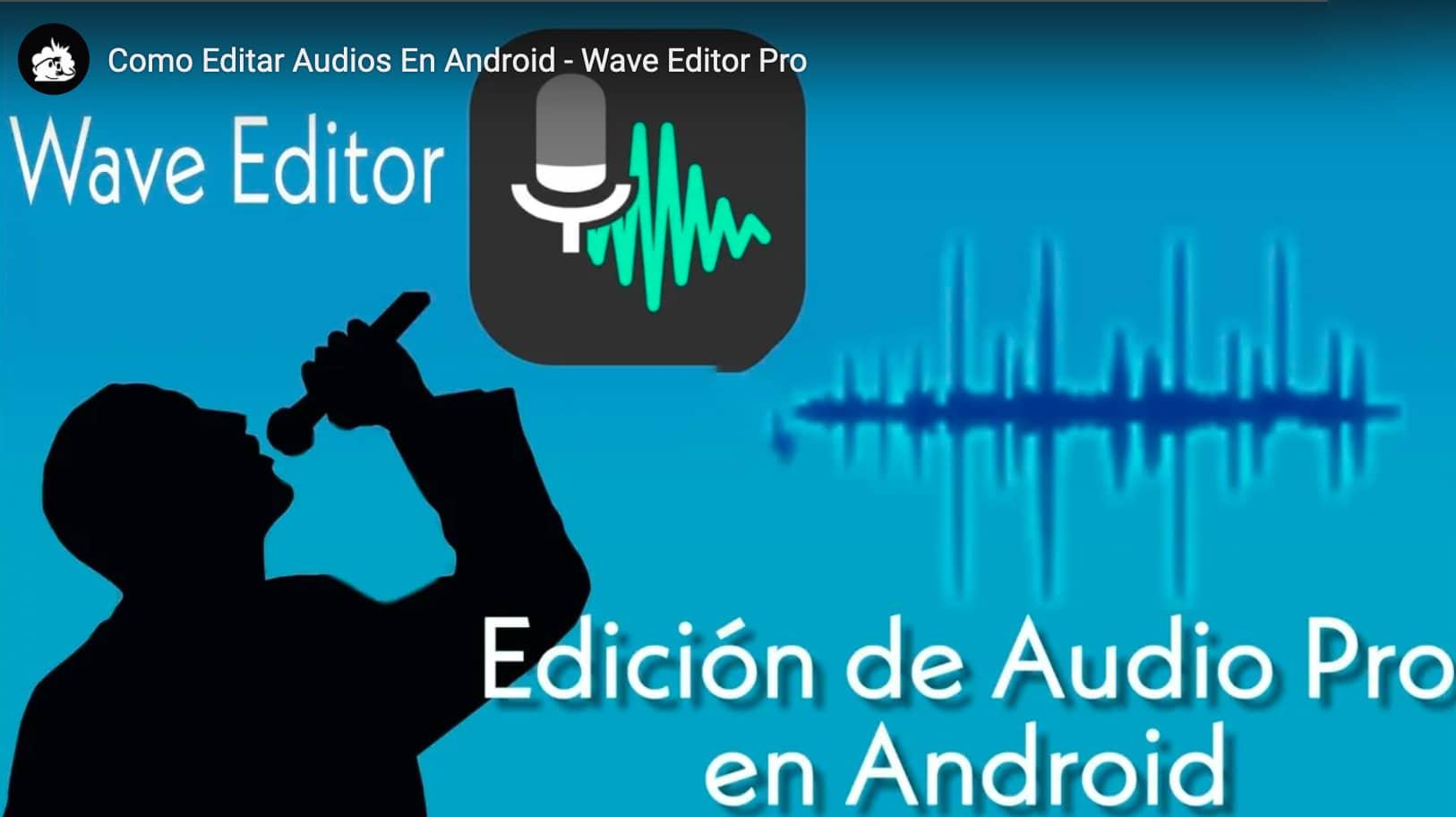 WaveEditor Android revisao